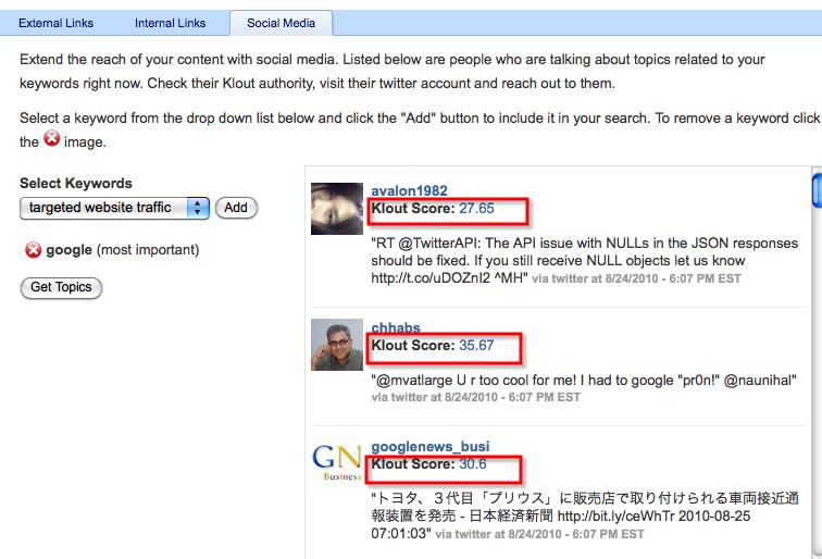 scribe seo social media marketing