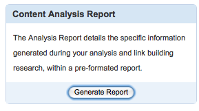 scribe seo analysis report