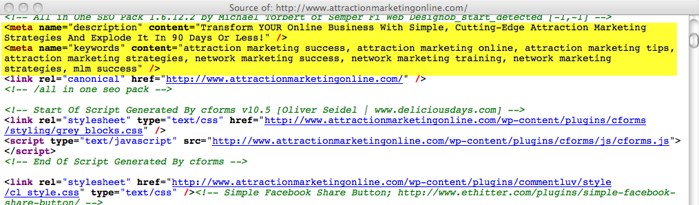 attractionmarketingonline.com meta description