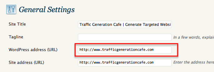 url canonicalization in wordpress