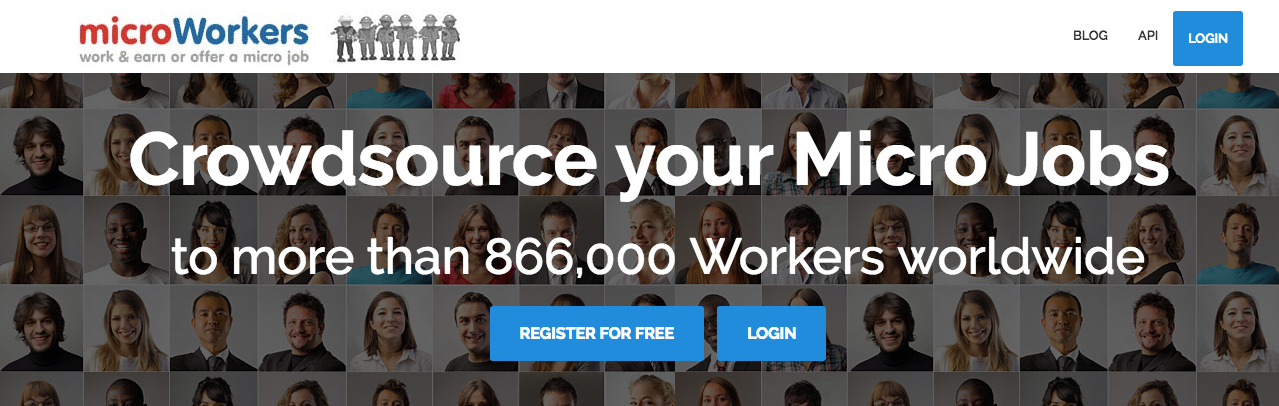 how to outsource with microworkers