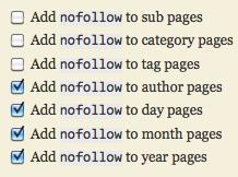 nofollow meta tag in thesis