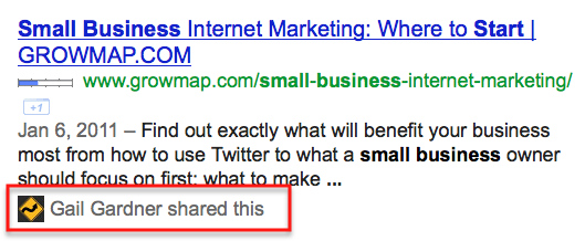 Growmap small business google listing