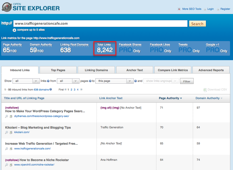 open site explorer backlink checker alternative