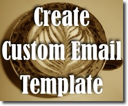 create email newsletter template