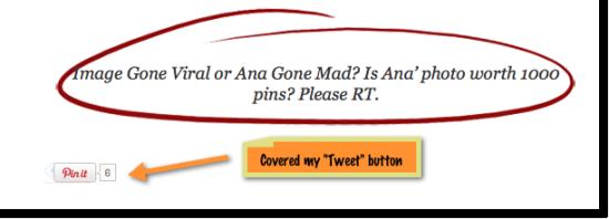 Free pin button flaw