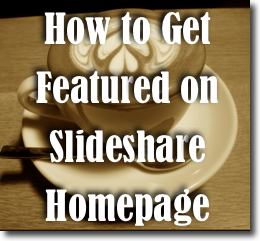 Slideshare homepage traffic