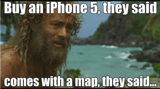 iphone5 blunder