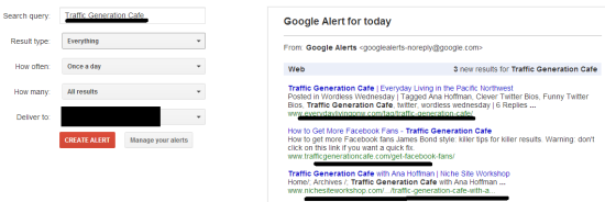 google alerts brand