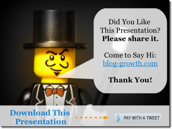 slideshare pay with tweet