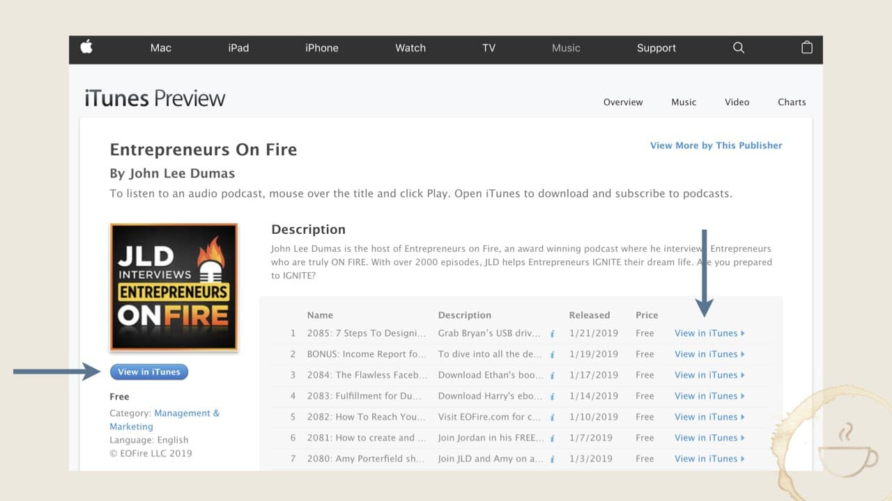 how to leave iTunes Reviews on iTunes website