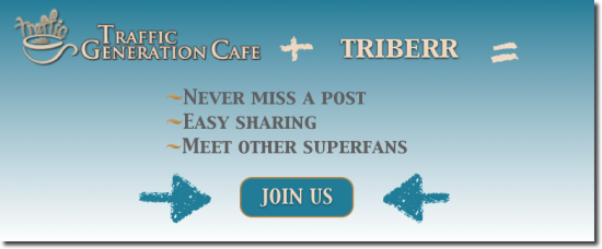 join triberr Traffic Generation Café