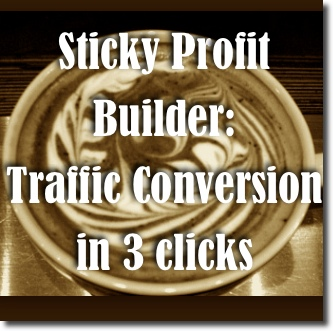 traffic conversion plugin Sticky Profit Builder