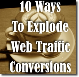 web traffic conversions