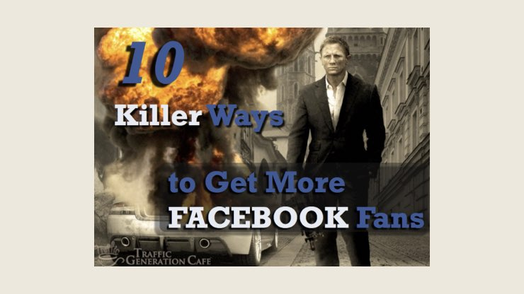 How I got into trouble using 'Free' Blog Post Images with James Bond