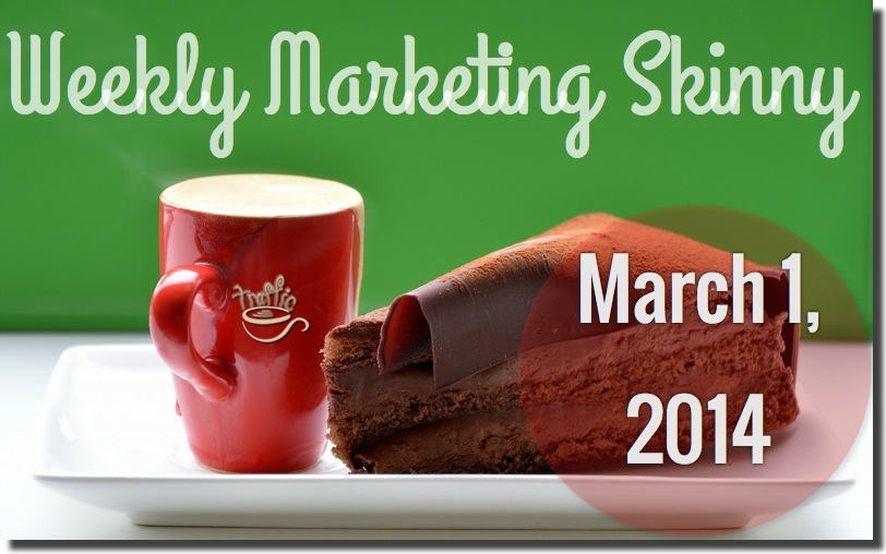 weekly marketing news march 1 2014