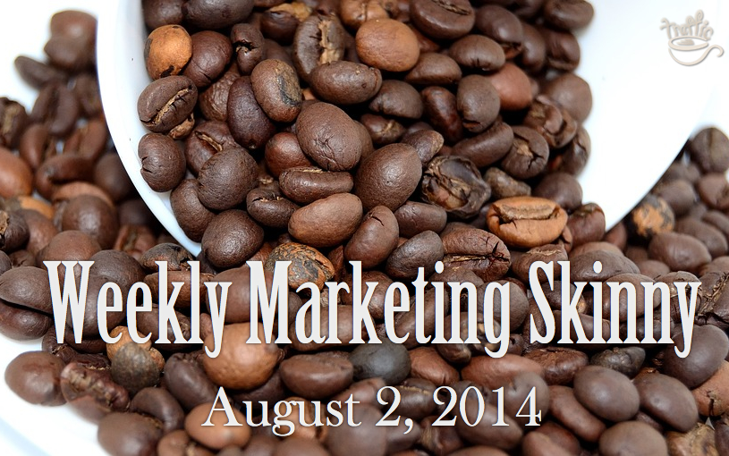 weekly marketing news august 2 2014