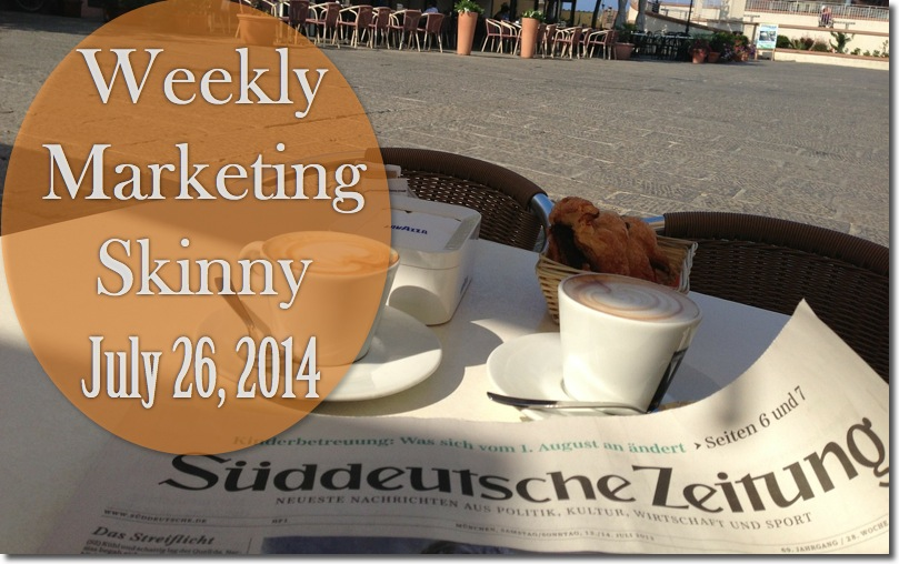 weekly marketing news july 26 2014