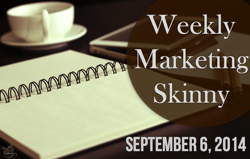 weekly marketing news september 6 2014