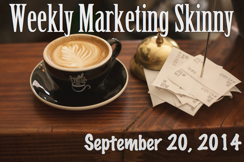 weekly marketing news september 20 2014