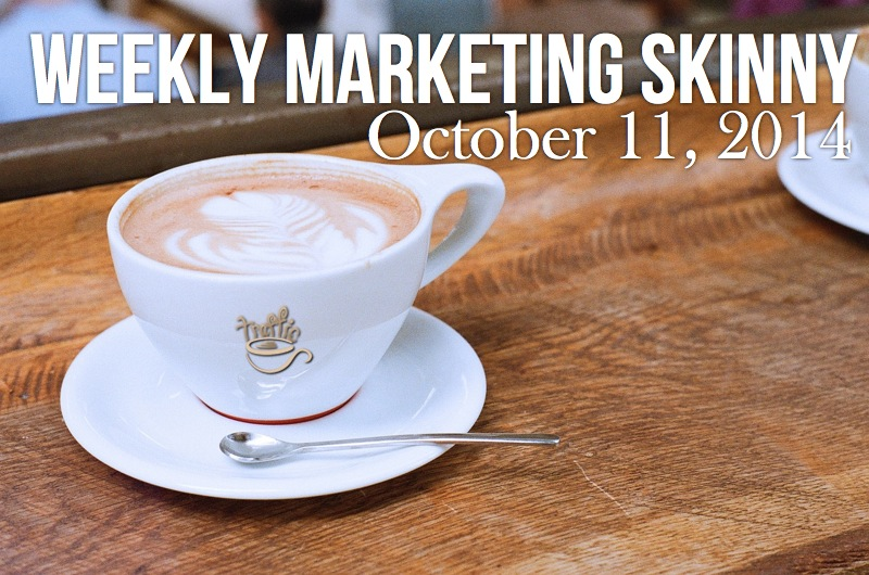 Your weekly marketing news for marketing news october 11 2014