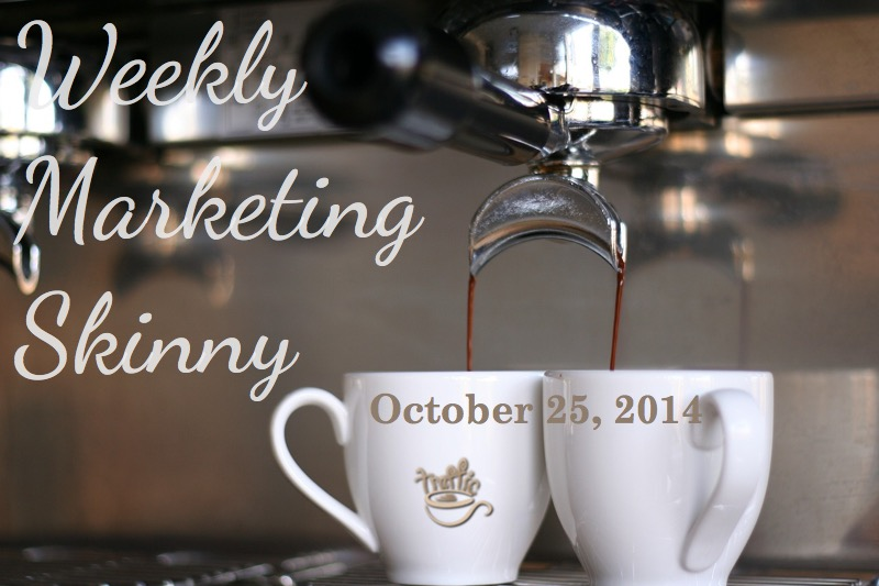 Your weekly marketing news for October 25, 2014