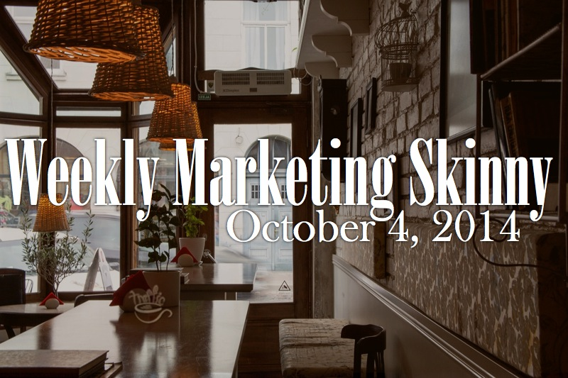 weekly marketing news october 4 2014