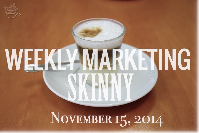 Your Weekly Marketing Skinny November 15, 2014 at Traffic Generation Café