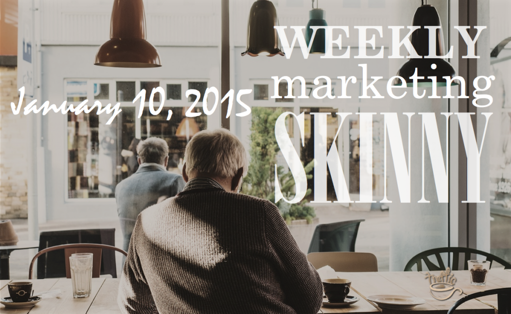Your weekly marketing news for January 10, 2015