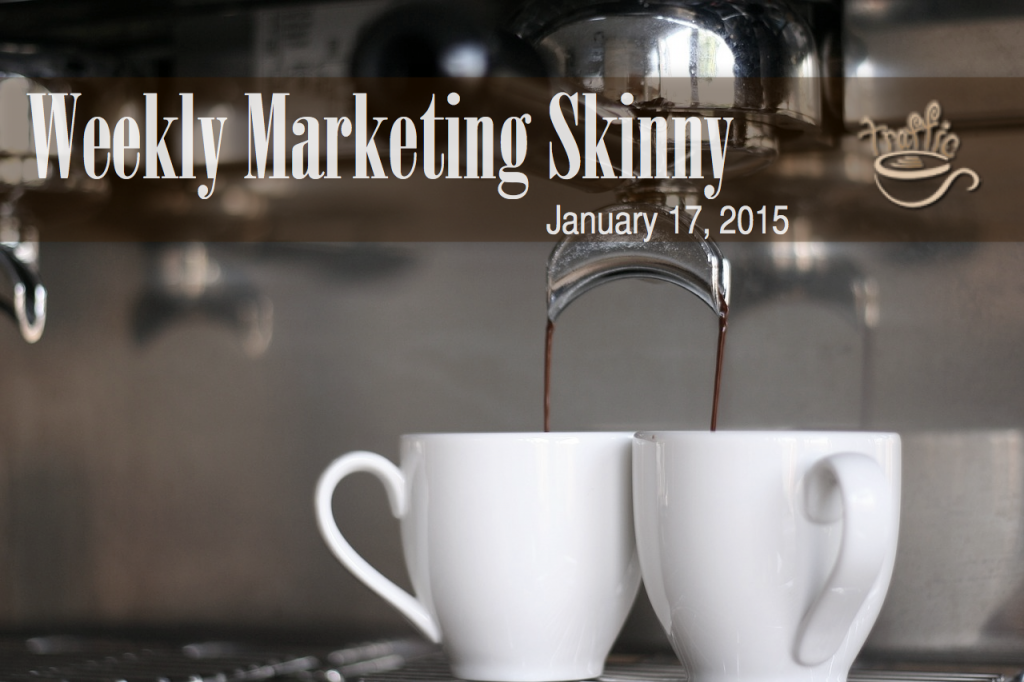 Your Weekly Marketing Skinny for January 17, 2015