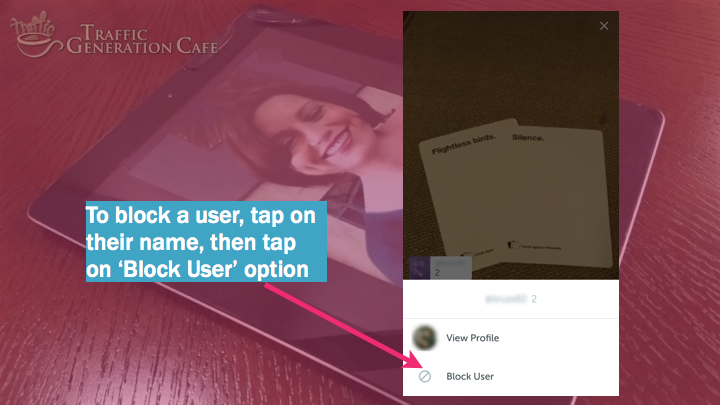 Periscope on Android Tutorial: how to block users