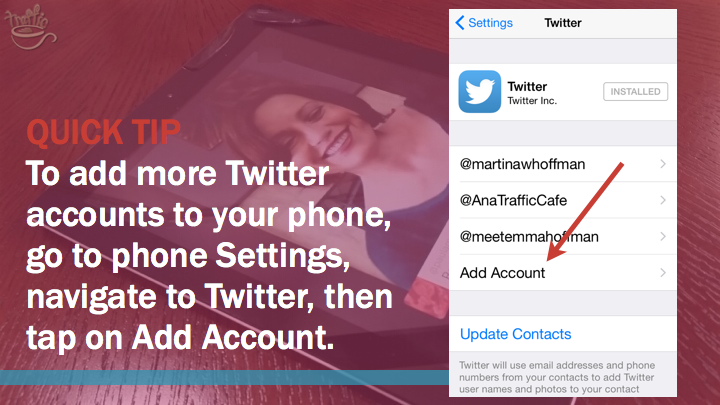 Periscope iOS tutorial: how to add Twitter accounts
