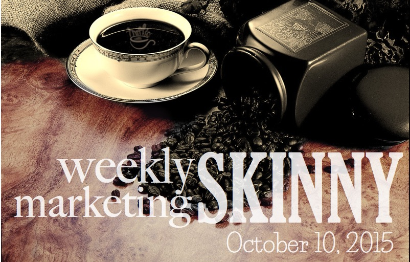 Weekly marketing news - October 10, 2015