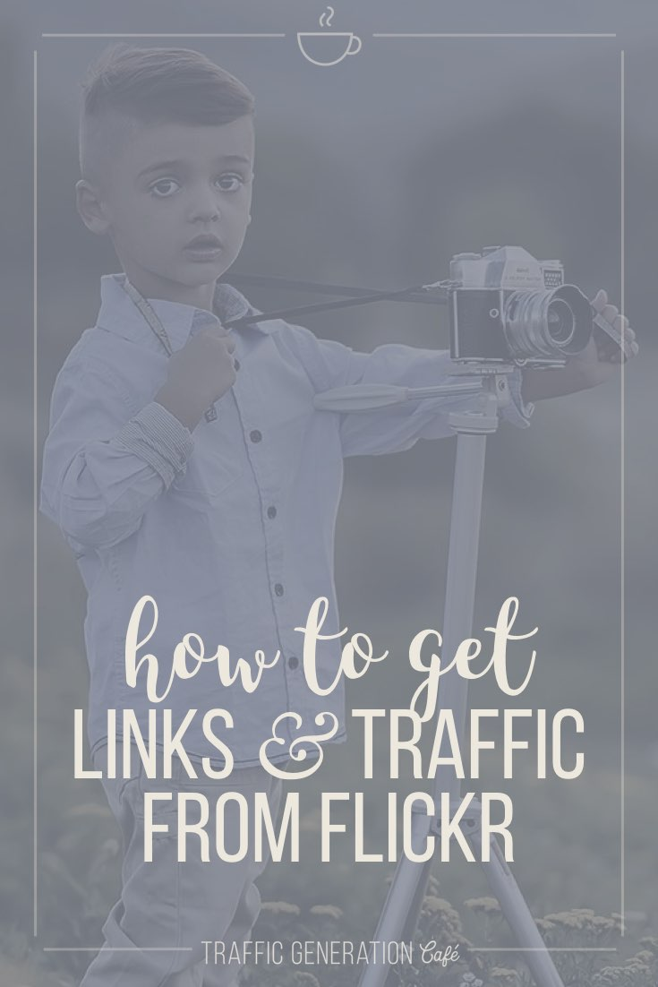 I bet you had no idea you could use Flickr for more than uploading photos? Like to build links and get traffic from? I know I had no idea until I stumbled upon this brilliant (if I may say so myself!) Traffic Hack. 👉 http://tgcafe.it/flickr-traffic-links