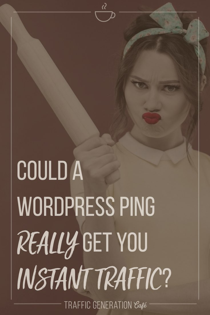 🤫 To ping or not to ping?  Still think pinging helps with... what, exactly?  What if it ACTUALLY HARMS your site?... Find out  👉  https://tgcafe.it/wordpress-ping-list
