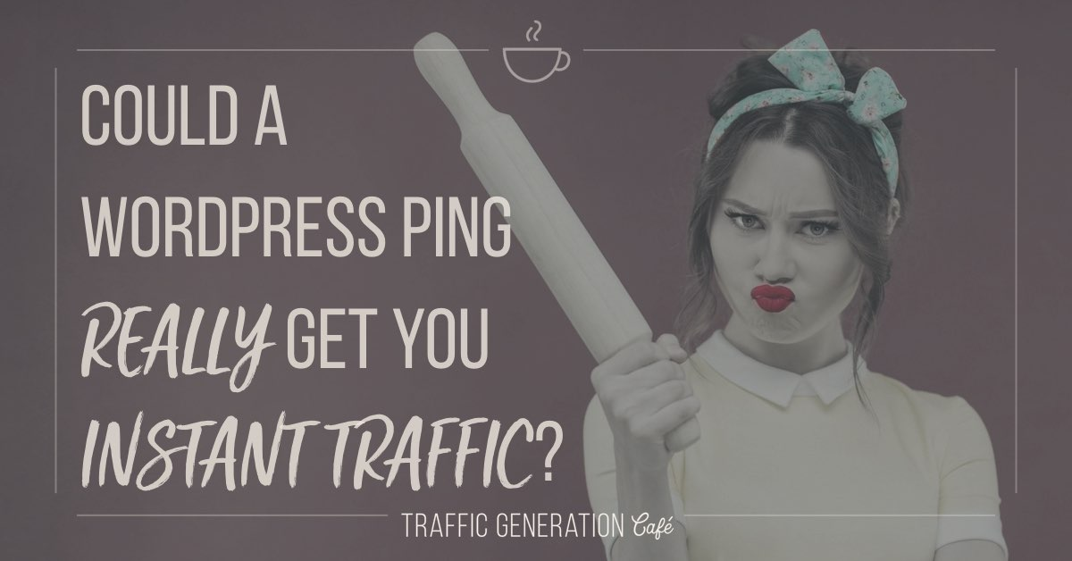 What Is Wordpress Ping and Could It Get You Traffic?